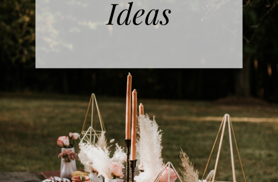 5 wedding boho table ideas
